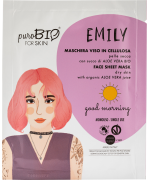 Purobio Cosmetics - Maschera viso EMILY pelle secca Good Morning