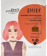 Purobio Cosmetics - Maschera viso EMILY pelle secca career girl