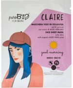 PuroBIO Cosmewtics - Maschera viso CLAIRE pelle grassa good morning