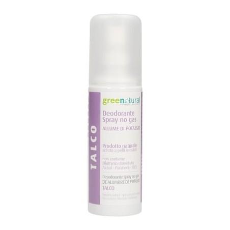Greenatural - Deodorante Spray TALCO