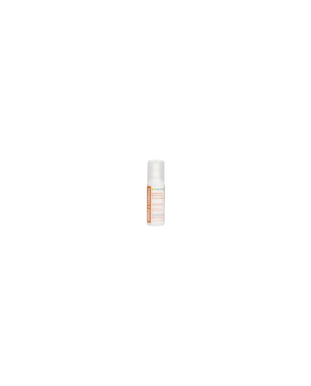 Greenatural - Deodorante Spray MIRRA e SANDALO