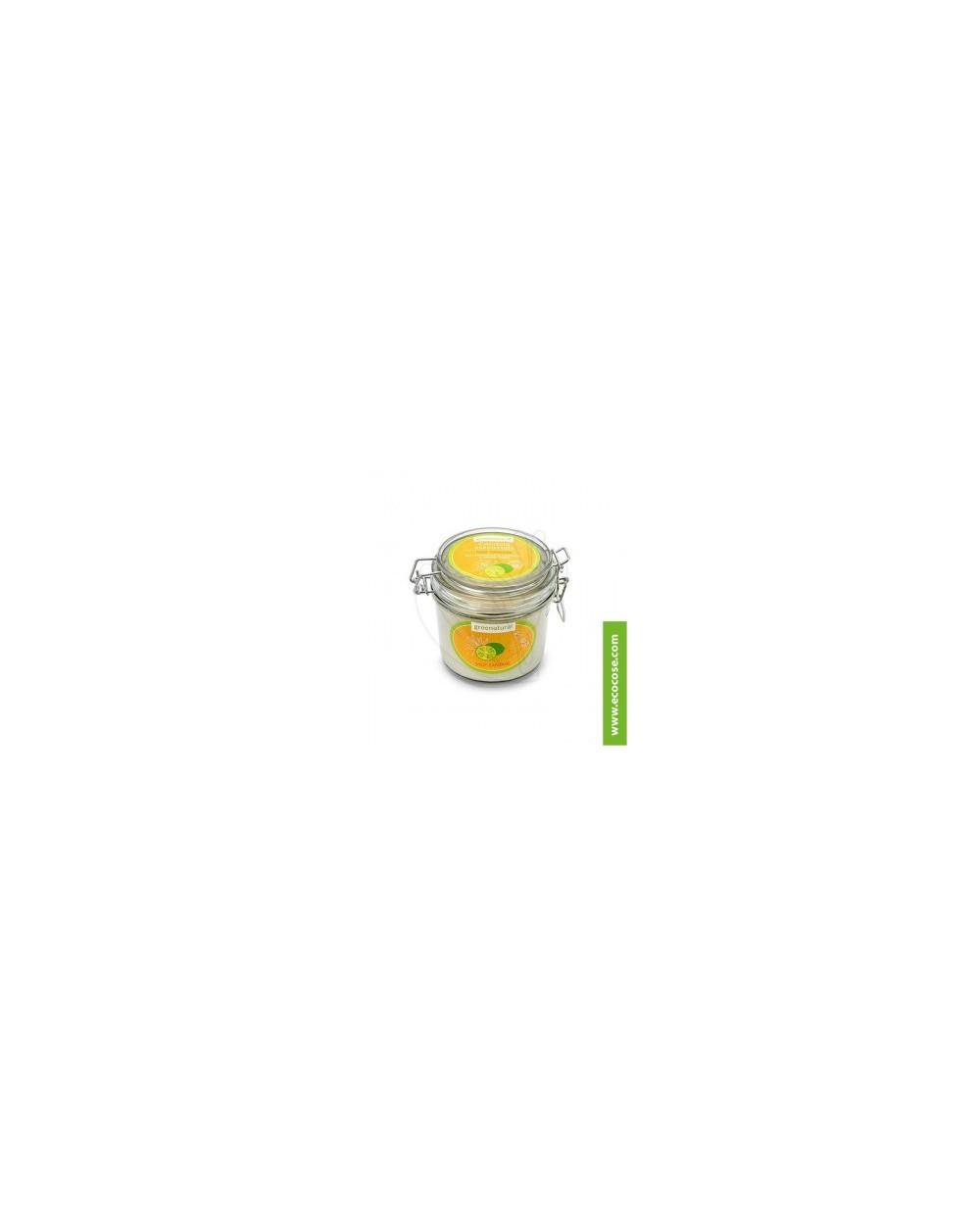 Greenatural - Candela essenziale STOP ZANZARE - Limone Verde e Citronella 350GR