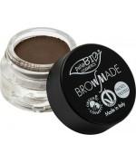 PuroBIO Cosmetics -BrowMade Pasta per Sopracciglia 03 tortora-scuro