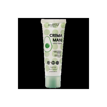 PuroBIO for skin - Crema mani avocado 50ml