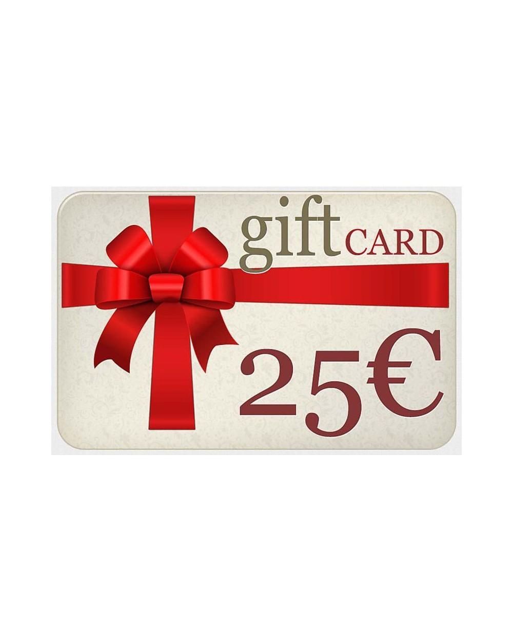 Buono Regalo da 25 Euro