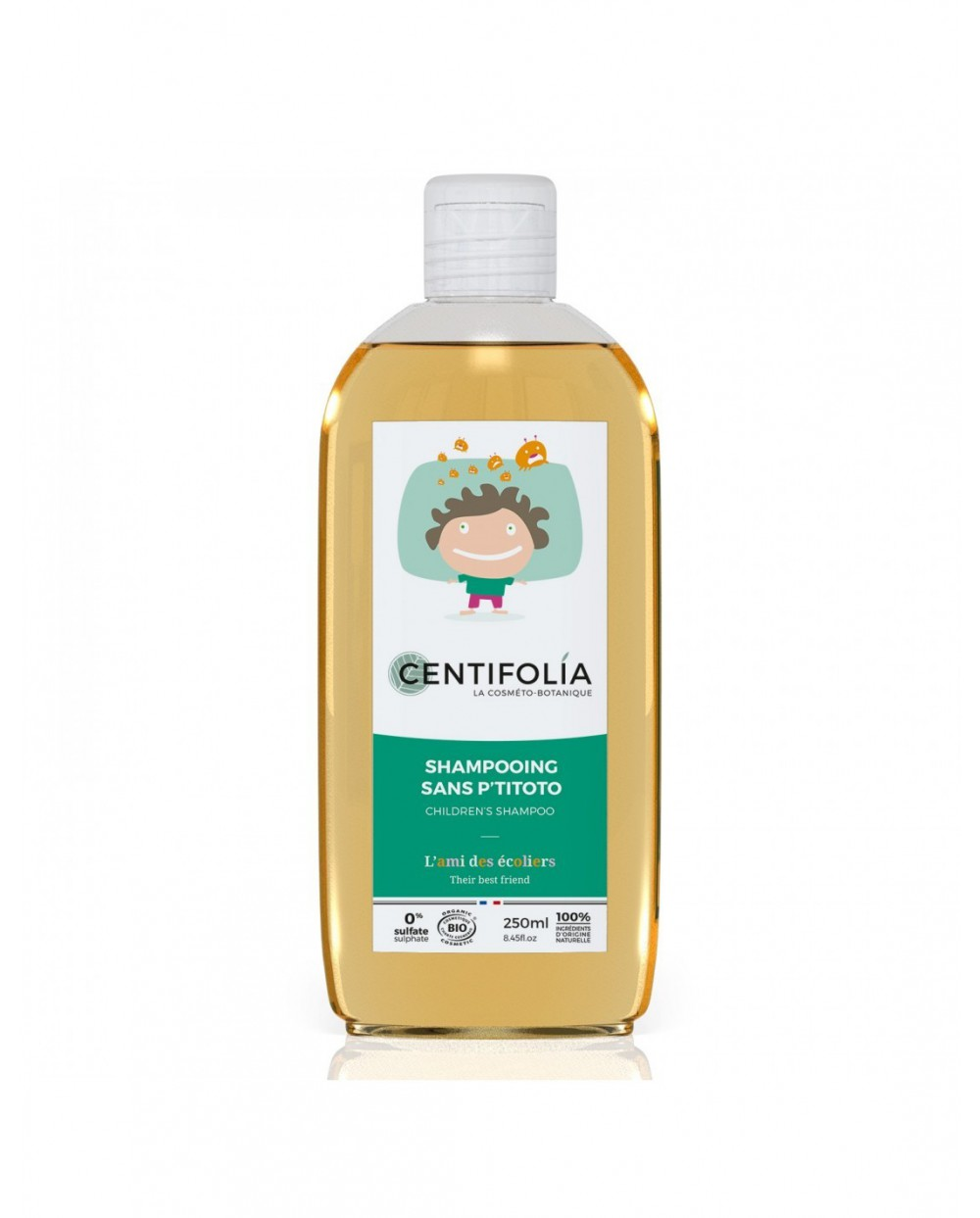 "Centifolia - Shampoo anti-pidocchi ""sans p'titoto"" 250ml"