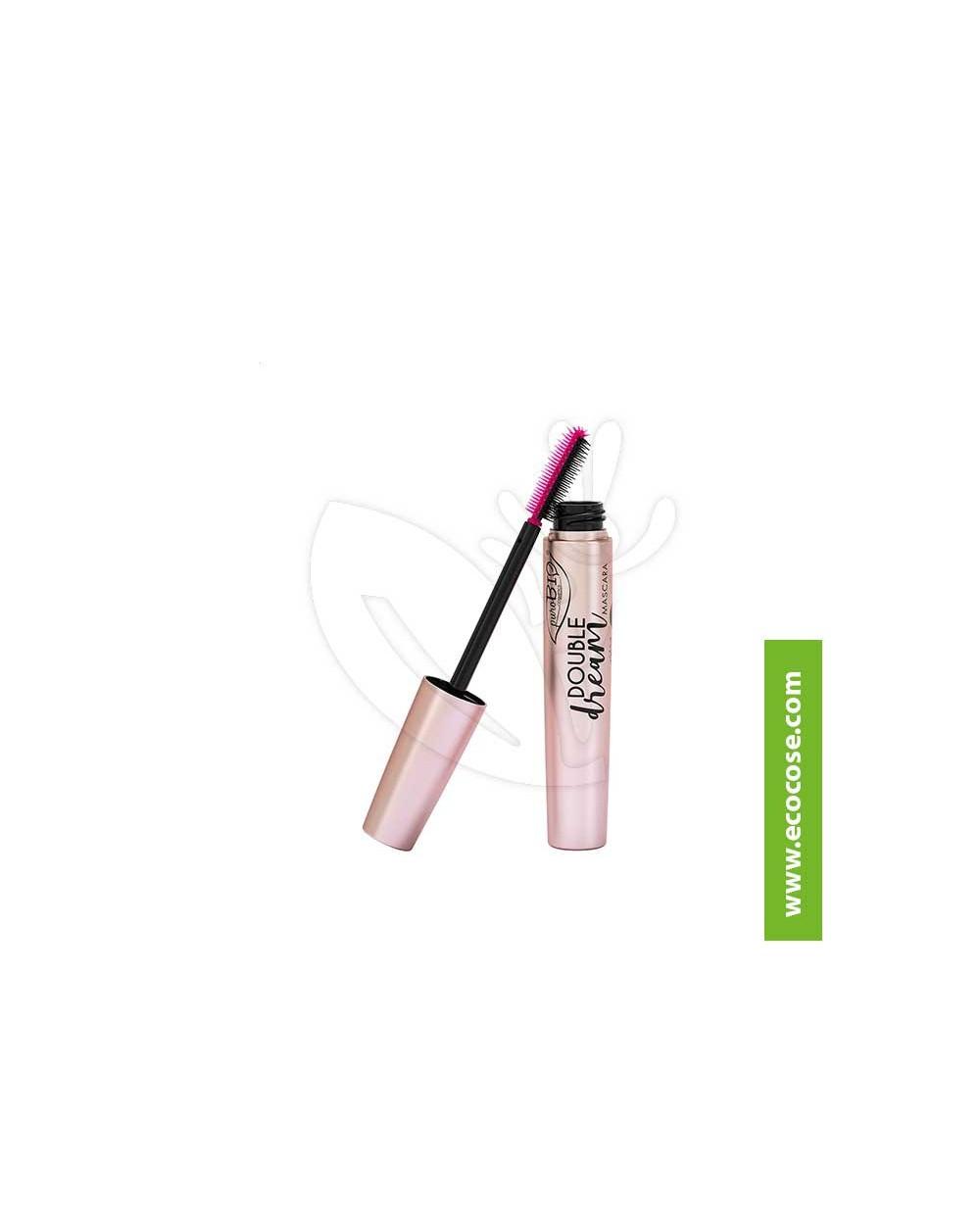 PuroBIO Cosmetics - Mascara Double Dream 02 Marrone