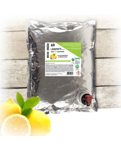 Chizzoni Saponificio - Eco&Mio Lavapiatti a mano Limoni Ricarica 3Kg - NO BOX