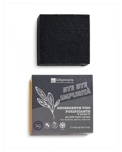 La Saponaria - Bye Bye Impurità! Detergente Viso Purificante Solido