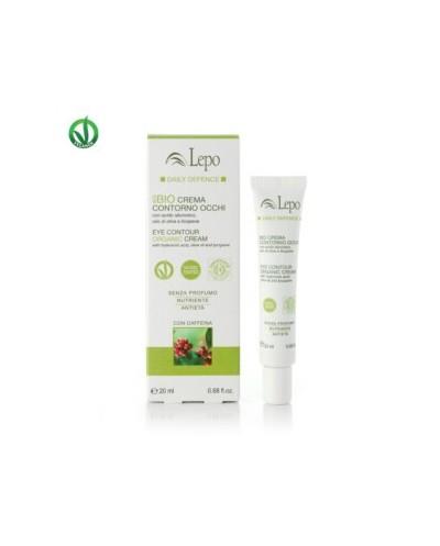 Lepo - ECOBIO CREMA CONTORNO OCCHI con acido ialuronico, olio di oliva e licopene