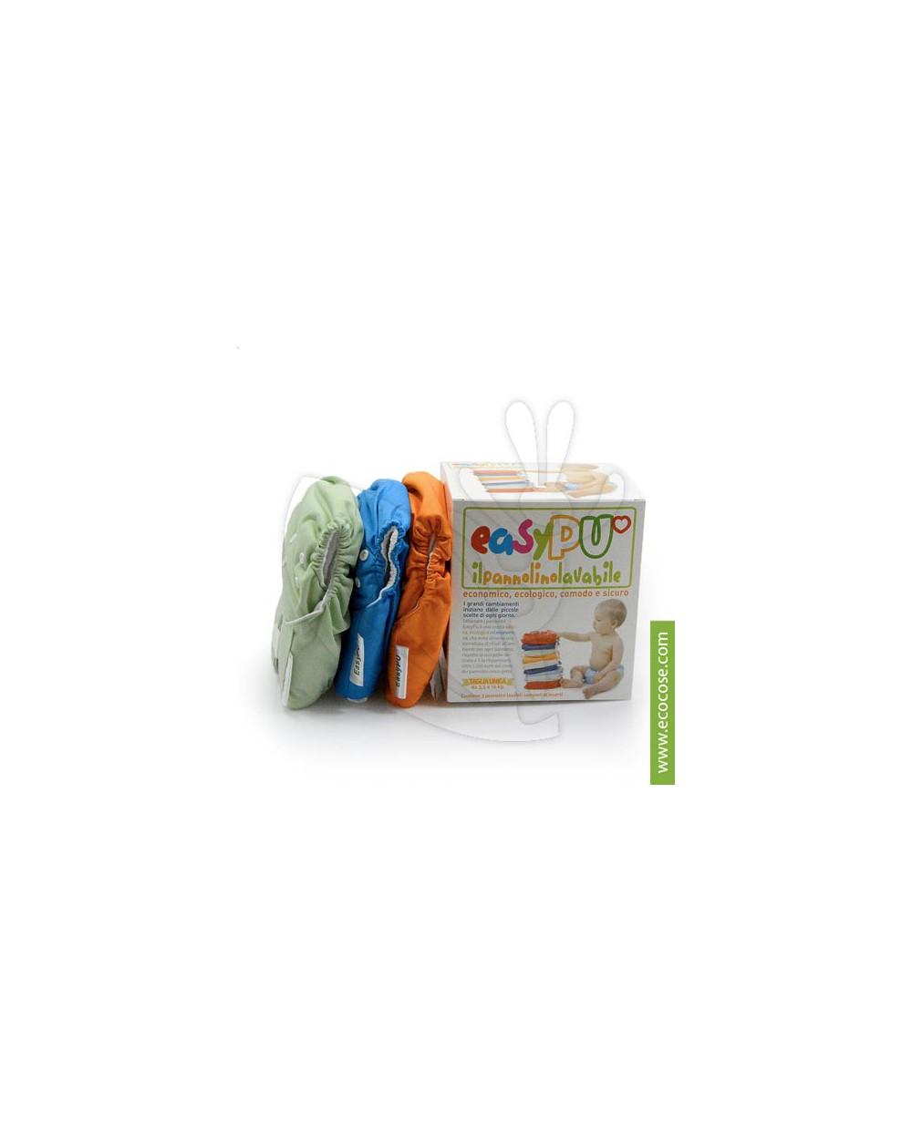 Easypu- Kit 3 Pannolini lavabili