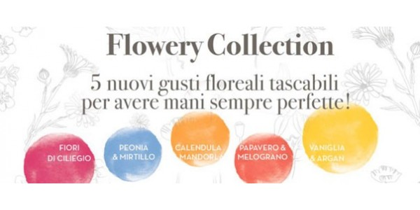 Maternatura - Creme mani profumate Flowery Collection