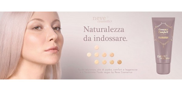 Neve Cosmetics - Creamy Comfort Foundation