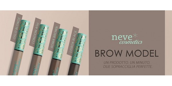Neve Cosmetics - Brow Model