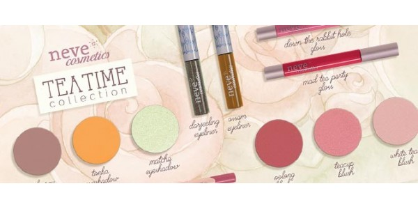 Neve Cosmetics - Tea Time Collection