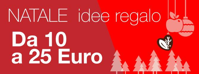 Natale idee regalo da 10 a 25 euro