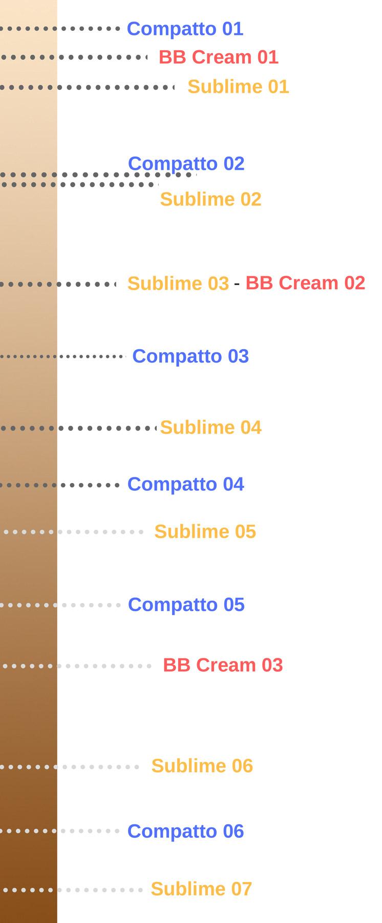 Fondotinta PuroBIO Cosmetics tonalità